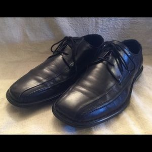 Josef Seibel Black Leather Oxfords - size 8.5